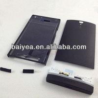 original for Sony LT26i Xperia S full housing complete housing battery door back cover