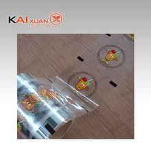 Translucent Plastic Printed Lidding Roll Film