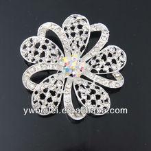 diva rhinestone brooch pin,wedding crystal rhinestone brooch for 2013 promotional