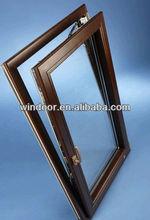 Double glazing Elegant Aluminium tilt and turn window with two way open tilt & turnTilt&Turn