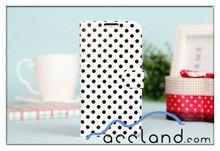 Dot Card Holder Wallet Case for s4 Case I9500 Cover
