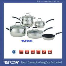 Apple shape Cooking pan frying 10pcs/set TL70041