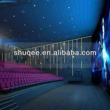 Gorgous 3D 4D theater cinema,high quality 3D film,motion seat factory