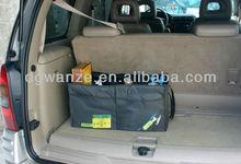 Folding car seat organizer plastic