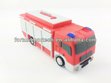 promotional 3D fire truck flash memory