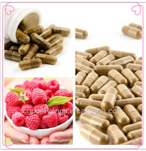 Herb Medicine Weight Loss Product Natural Raspberry Ketone Capsule Supplement