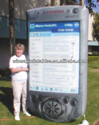 giant inflatable mobile phone,cell phone balloon Y3048