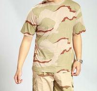 Camo 100%cotton T-shirt/Tactical T-shirt/ Combat T-shirt