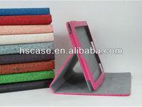 2013 Charming Magic girl Cartoon Rotating Stand leather case for ipad mini