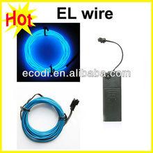 reasonable price el light wire,glowing costume neon wire,flexible neon led wire