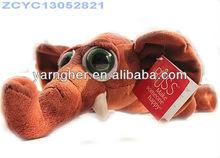 the lay type elephant plush toy
