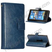 Ultra Slim PU Purse Wallet Folio Magnetic Flip Leather Case for Nokia Lumia 920, for Nokia Lumia 920 Case Cover