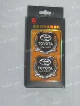 Car Side Labeled Metal Side Marked Emblems Auto Logo Sticker Modification Standard / Metal Conversion Standard, Wheat Car Standa