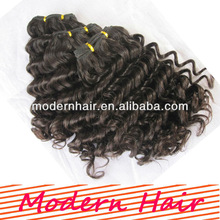 Deep wave deep curl remy human hair with best price and best quality