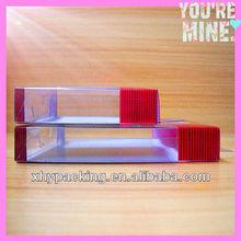 Novo estilo de impressão PET / PVC material de caixa de embalagem recordações produtos