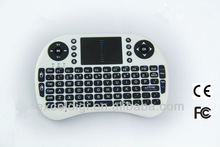 2.4g 3d air mouse remote control wireless keyboard for mini ipad