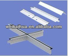 WBM Exposed Ceiling T Grid for Suspention Ceiling Decoration