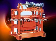 Qtj4-40 mattoni manuale che fa la macchina