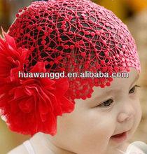 Loverly red children hair - nets hair ornament for girl Wholesale