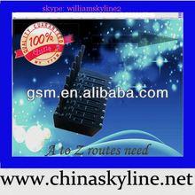 8 ports sms modem pool,multiple sim card sms modem,short message sending,bulk sms gateway receiver 3g modem