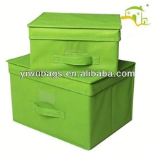 2014 Factory cheapest Foldable Storage Boxes & Bins set for dvb s hd digital receiver