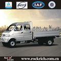 primera opción 4x2 dongfeng luz camión de una tonelada de gasolina con el euroiv y desplazamiento 1205ml en bolivia