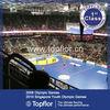 High quality viny sports floor plank for handball court