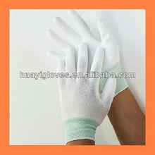 13gauge Seamless PU Palm Fit Nylon Gloves HY01