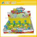 Venta caliente viento hasta dinosaurios, de dibujos animados de plástico juguetes disosaur 12pcs/box oc0137389
