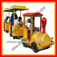 Shopping center trackless shopping mall train hot sale in Russia