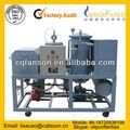 Diesel de residuos de aceite de regeneración de la purificación y reciclado de la máquina/de residuos de aceite del motor de filtración equipo/biodiesel oi de filtro