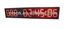 "2012 hot sell LED Countdown Timer 8"" High LED Sign Clock Hangzhou Ningbo"