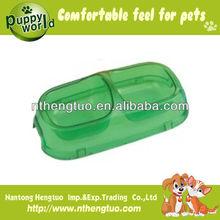 2013 wholesale transparent pet travel water bottle bowl