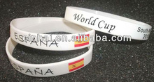 eco-friendly Silicone Arm Pulseras can be with any customized logo design