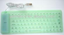 2013 new design fashion Silicone computer keyboard