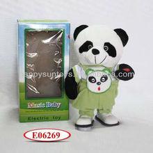 Electronic Plush Animal Music Walking Panda Toy E06269