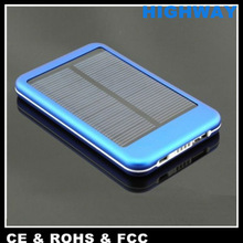 5000mAh portable solar charger for ipad mini dock