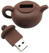 6gb fancy teapot pen drive 500 gb flash disk