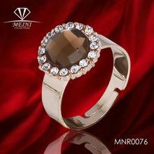 lady index diamond acrylic finger ring