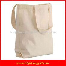 Plain Recycle Cotton Promotional Duffle Bags HKCS-1399