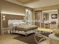 americano de moda el estilo del hotel muebles del dormitorio