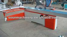Carpintero de madera del panel de corte máquina de la sierra/de trabajo deslizamiento sierra de mesa mj6132td