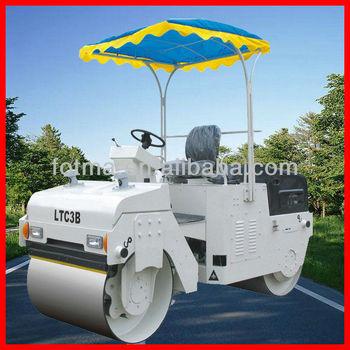 LUTONG 3 ton vibratory road roller