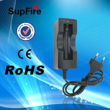 SupFire 18650 rechargeable battery charger