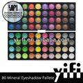 Venta al por mayor cosmética! 80 a todo Color de sombra de ojos Palettes Double Stack maquillaje ingredientes en la sombra de ojos