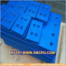 High Abrasion Resistance blue uhmwpe fender sheet marine fender pad