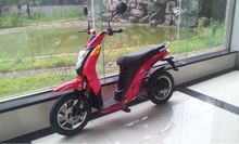 48V 350W EEC adult electric motorcycle with pedals