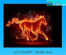 Led Canvas imagem / LED pintura da lona, Led Canvas impressão / cavalo