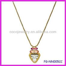 Fashion diamon necklace ladies jewelry accessories necklace