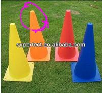 Export To Singapore Sport Training Cone Orange 30CM PE Plastic Cone Used in School